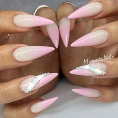 Fantabulous Pointy Nails Designs You Would Love to Have ★ See more: https://naildesignsjournal.com/pointy-nails-designs/ #nails