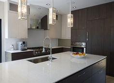EuroStone Quartz Kitchen  |  Color: K SOUL (Marble Design)  |    #kitchendesign #kitchenideas #dreamkitchen #interiordesign#architecture #homes #homedesign #kitchencountertops #quartz