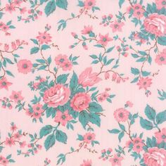 Moda Fabrics MKS2890-12 Kindred Spirits Pink by Bunny Hill Designs // Moda at Juberry Fabric