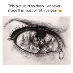 True pain art