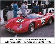 1967 Alfa Romeo T 33 Alfa Romeo (1.995 cc.) (A)  Andrea de Adamich