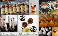 7 Creative Ideas for a Children's Halloween Party