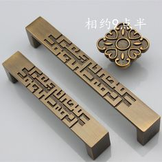 Solid thick Chinese classical furniture carved coffee bronze drawer handles high-end luxury wardrobe door handle Grey Bedroom Furniture, Living Room Furniture Arrangement, Wardrobe Door Handles, Wardrobe Doors, Italian Furniture Design, Classic Furniture, Steel Furniture, Hand Painted Furniture, Drawer Handles