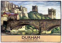 Durham Railway Poster