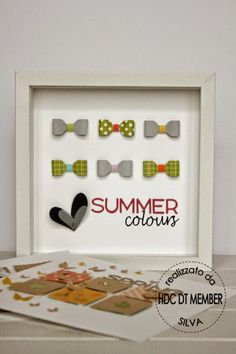 Hobby di Carta - Il blog: HOME DECOR: Summer Colours by Silva