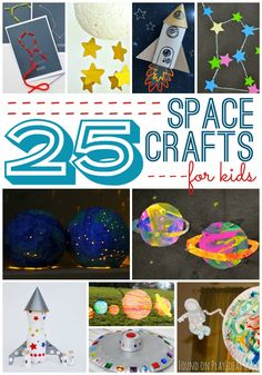 25 Inspiring Space Crafts For Kids
