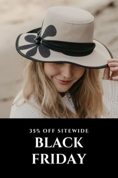 Black Friday Sale!!! 35% OFF Site Wide! Shop Now! #hats #blackfriday