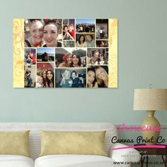 Canvas Printing: Photo Collage Gifts - Canvas Print Co. Photo Collage Gift, Photo Collages, Custom Made Gift, Collage Template, Framed Prints, Canvas Prints, Easter Weekend, Design Your Own, Grid