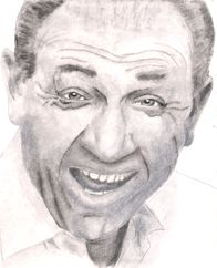 Sid James portrait  from KaozKreations