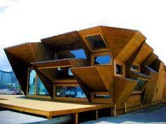 Modulair zonne-energie huis