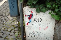 #spiderman #streetart #gianicolohill