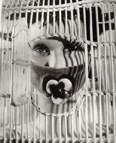 Raoul Ubac. Head of André Masson's Model,  Exposition Internationale du Surréalisme, 1938
