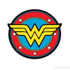 Wonderwoman logo decal