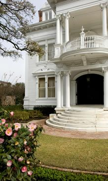 The Garden District in New Orleans is noted as a great neighborhood by the American Planning Association. The neighborhood's historical residences and beautiful live oak trees lend a stunning visual appeal.