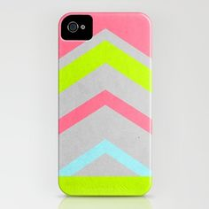 Abstract Neon iPhone Case... I think this is the one