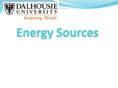 Energy sources jb by Tariq Mohammed via slideshare