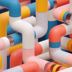 #c4d #3d #cinema4d #liquid #cg #cgi #glossy #glass #melt #tube #designerscollective #minimal #minimalist #motiongfx #behance #itsnicethat #motiongraphicdesign #fubiz #pattern by christripes