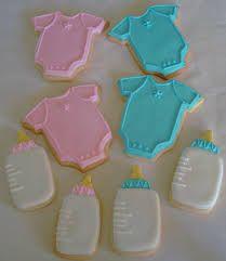 cookies biberones y ropa