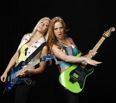 The Iron Maidens  Nita Strauss & Courtney Cox