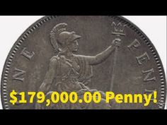 Have you found one of these rare British Copper Pennies in your rolls of half dollars? Sell Old Coins, Old Coins Value, Old Coins Worth Money, Valuable Pennies, Valuable Coins, Sell Stamps, Rare Stamps, Coin Collection Value, Rare British Coins