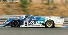 """Bob Wollek / Stanley Dickens / """"John Winter"""" - Porsche 962C - Joest Porsche Racing - LVIII Grand Prix d'Endurance les 24 Heures du Mans 1990 - Non championship race - © Laurent Chauveau"""
