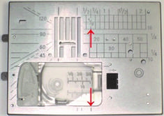 Janome's needle plates are patented and are designed with etched guides to simplify your sewing. Do you know how to use the etched markings on your needle plate? Quilting Tips, Quilting Tutorials, Machine Quilting, Sewing Tutorials, Memory Crafts, You Ask, Sewing Hacks, Sewing Tips, Janome