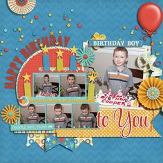 Kit is celebrate by Julie Billingsley at sweetshoppdesigns.com Singles 44-Birthday Memories 2 By Cindy Schneider at sweetshoppdesigns.com