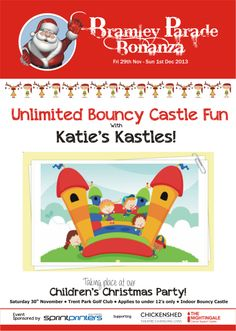 Bramley Bonanza Bouncy Castle, Childrens Christmas, Cancer Support, Family Guy, How To Apply, Fun, Fin Fun, Funny, Griffins