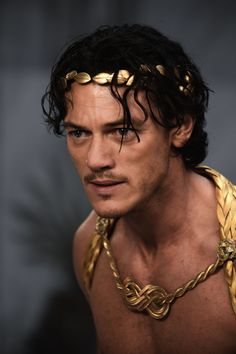 Immortals (2011) - Zeus (Luke Evans) In this movie, Zeus is depicted as a protagonist that chooses the mortal man Theseus to lead the fight against the ruthless King Hyperion, who is on a rampage across Greece to obtain a weapon that can destroy humanity.