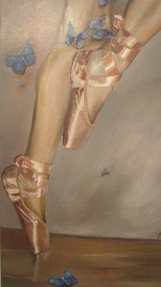 Ascend  satin pink ballet shoes ballerina blue by GilstarDesigns on Etsy  http://www.etsy.com/listing/89349366/ascend-satin-pink-ballet-shoes-ballerina?ref=tre-2000237159-9