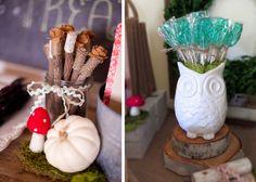 Anders Ruff Custom Designs, LLC: A Girlie Woodland Owl Birthday Party