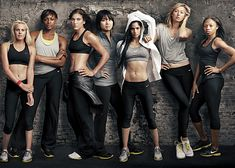 Nike Make Yourself Campaign featuring Allyson Felix (US Track and Field Star and Olympian), Li NA (Chinese Tennis player and French Open Winner), Sofia Boutella (Algerian-French Choreographer and former Olympian in Gymnastics), Perri Shakes-Drayton (British Hurdler and Olympian), Maria Sharapova (Russian Tennis player and formerly #1 female player in the world), Hope Solo (US Soccer Goalkeeper) and Laura Enever (Australian Surfer and winner of the '10 Woman's ASP World Jr. Title)