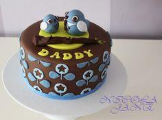 Ihastuttava isänpäiväkakku! #kakku #cake
