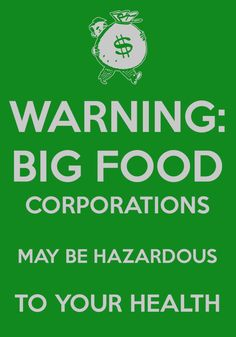 """""""Warning: Industry Spin May Be Hazardous to Your Health; Learn the Truth About GE Foods"""" http://www.huffingtonpost.com/elizabeth-kucinich/ge-foods_b_4769526.html"""