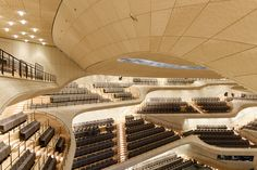 The Plaza of the Elbphilharmonie by Herzog&de Meuron officially opened to public in Hamburg