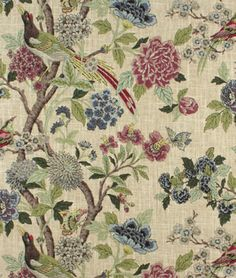 Richloom Whipporwill Tapestry Fabric - $20.05 | onlinefabricstore.net