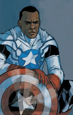 Captain America (Sam Wilson) by Phil Noto