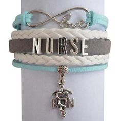 Nurse Infinity Bracelet