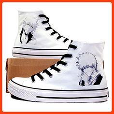 Bleach Kurosaki Ichigo Cosplay Shoes Canvas Shoes Casual Shoes Sneakers