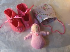 Waldorf doll accessories. A tiny doll for the big doll.