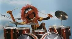 """An animal & a drummer. what about """"I'm in love?"""" do you not understand???"""