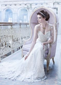 Lazaro Bridal Gowns, Wedding Dresses Style LZ3261 by JLM Couture, Inc.