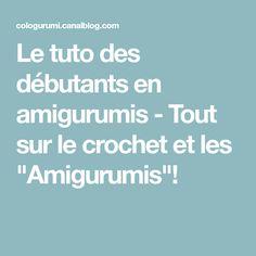 """Le tuto des débutants en amigurumis - Tout sur le crochet et les """"Amigurumis""""!"""