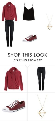 """Roy Harper/Thea Queen"" by kpantz on Polyvore featuring Vetements, Converse, Sydney Evan and Raey"