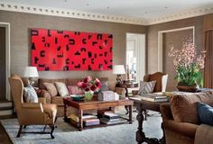 Traditional Media/Game Room by Michael S. Smith Inc. via @Kimberly Gould Digest #designfile