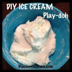 DIY Ice Cream Play-Doh!!!!!!