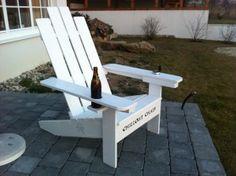 bauanleitung adirondack chair als gartenstuhl mit bauplan. selber, Garten ideen