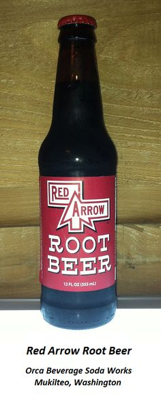 ROOT BEER REVIEW, Red Arrow Root Beer: Light carbonation with a mildly rooty aroma.  Initial flavor is quite sweet but still pleasing; not-too-creamy, not-too-herbal.  Aftertaste hints at licorice and some kind of fruity or woodsy mystery flavor (cherry maybe?).  All-in-all, it's a pretty good brew.