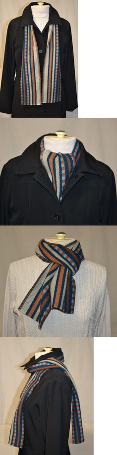 Scarves and Bandanas 169281: Chimayo Wool Scarf New Handmade Of Pendleton Wool Fabric Men Women Spring Scarf -> BUY IT NOW ONLY: $30 on eBay!