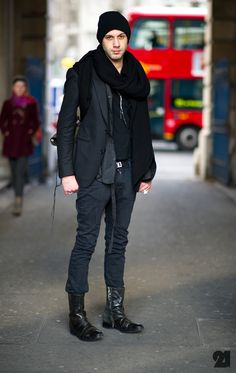 New Winter Street Style Fashion for Men